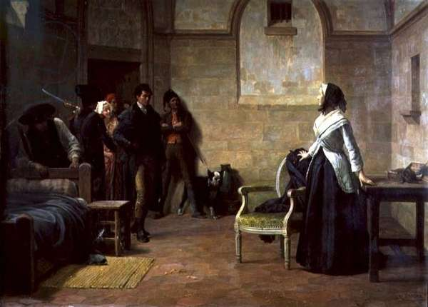 The last morning of Marie-Antoinette 16th October 1793