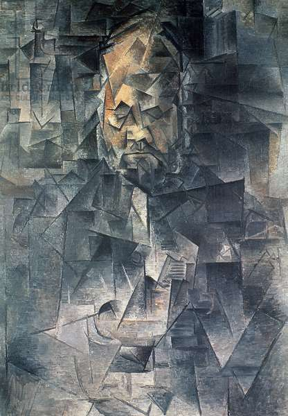 Portrait of Ambroise Vollard (1868-1939) 1909 (oil on canvas)