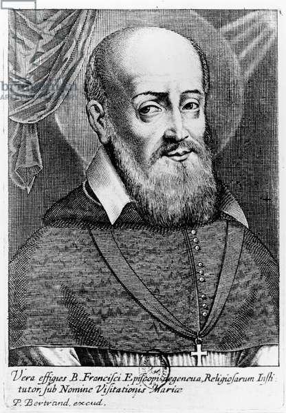 Francis de Sales (engraving)