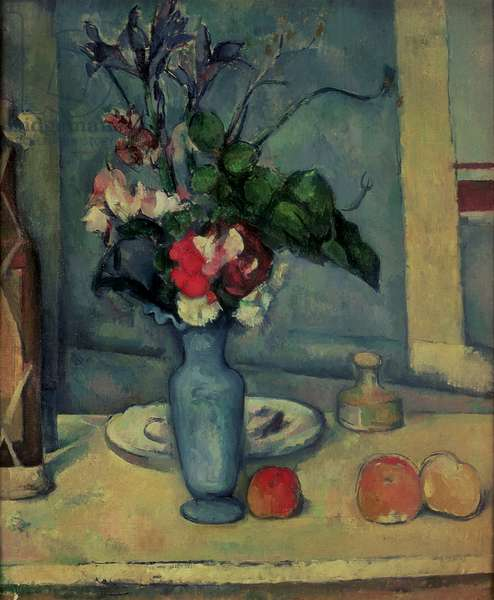 The Blue Vase, 1889-90 (oil on canvas)