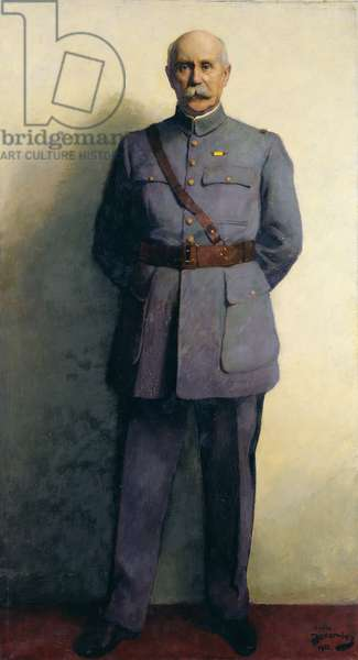 Portrait of Marshal Philippe Petain (1856-1951) 1932 (oil on canvas)