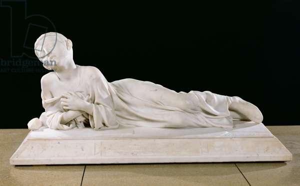 Tarcisius, Christian Martyr, 1868 (marble)