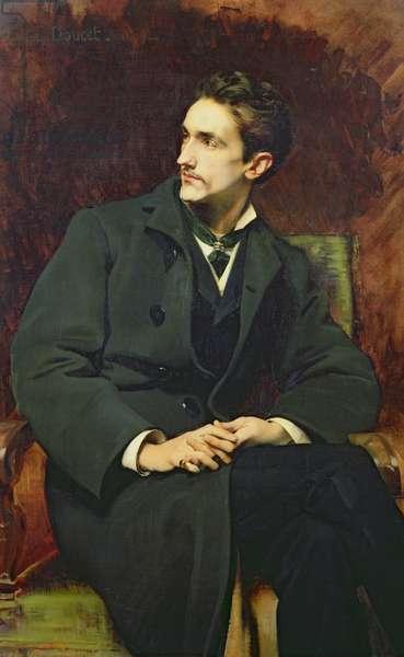 Portrait of Robert (1855-1921) Count of Montesquiou-Fezensac, 1879 (oil on canvas)