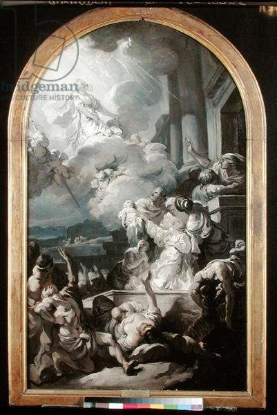 The Miracle of St. Genevieve, c.1765 (oil on canvas)