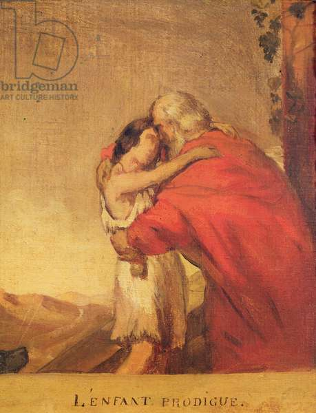 The Prodigal Son Returns (preparatory study)