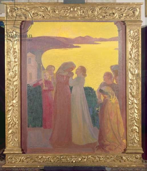 Magnificat, 1909 (oil on canvas)