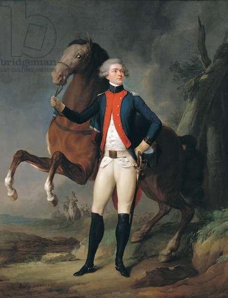 Gilbert Motier (1757-1834) Marquis de la Fayette, 1788 (oil on canvas)