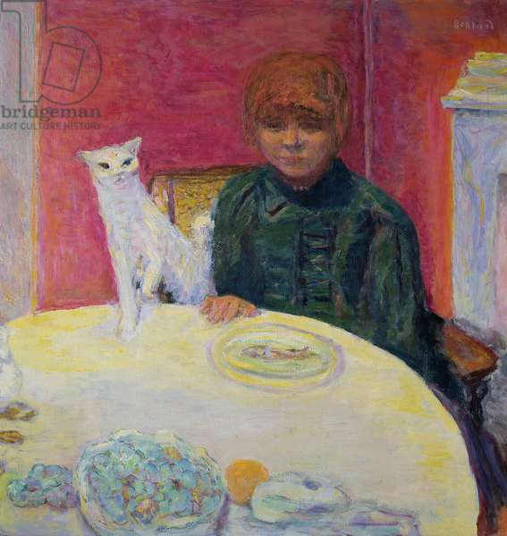 Woman with a Cat, 1912 (oil on canvas)