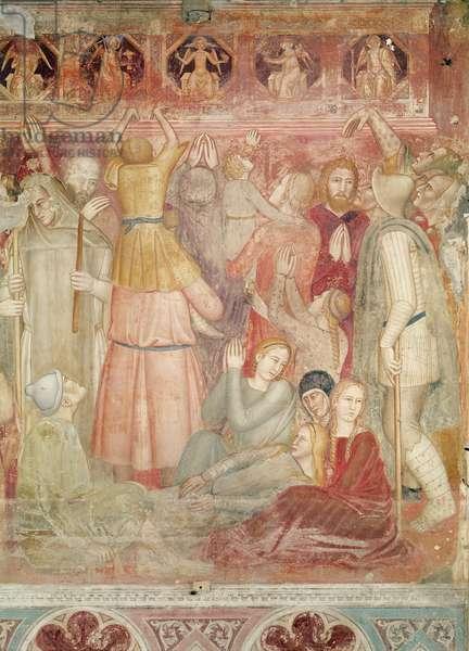 The Preaching of Saint Peter Martyr, c.1366-68 (fresco)