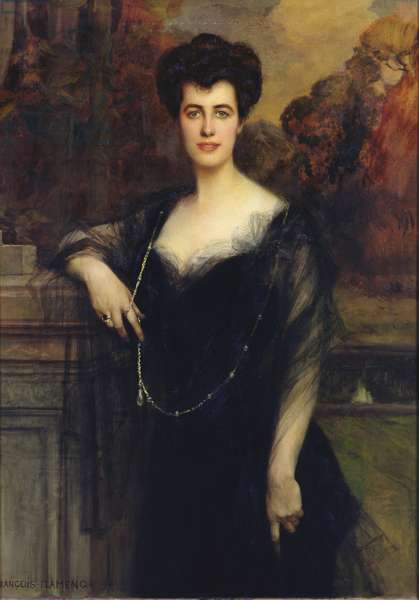 Madame Faure, 1901 (oil on canvas)