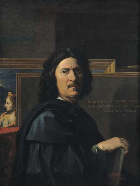 Portrait of the Artist, 1650 (oil on canvas)