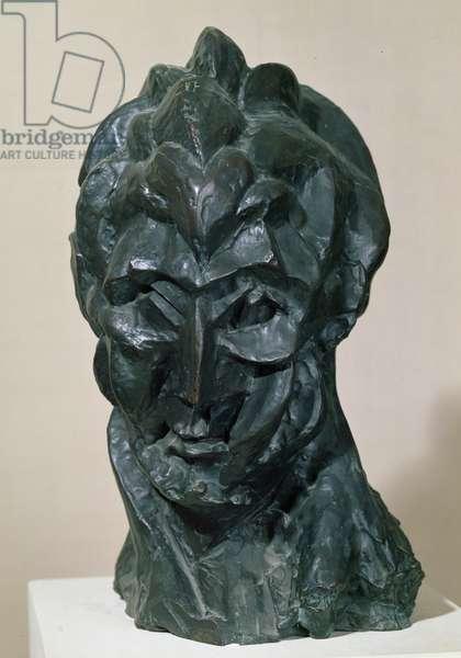 Head of a Woman, Fernande, 1909 (bronze)