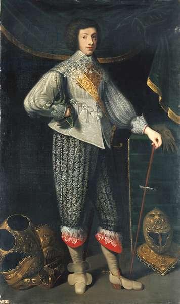 Henri Coiffier-Ruze d'Effiat (1620-42) Marquis de Cinq-Mars, c.1837 (oil on canvas)