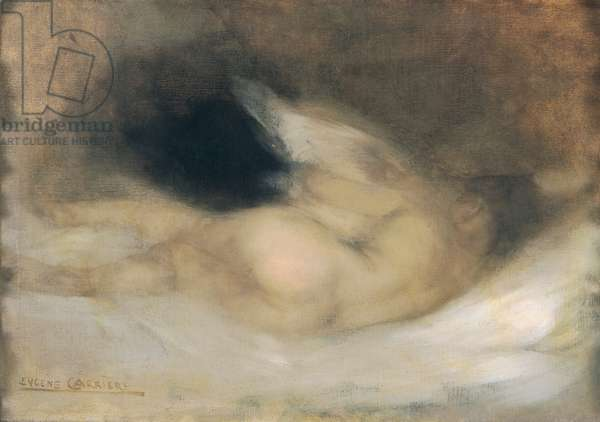 Reclining Nude (oil on canvas)