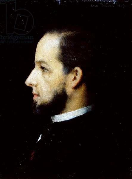 Portrait of Jean Benner (1836-1906) (oil on canvas)
