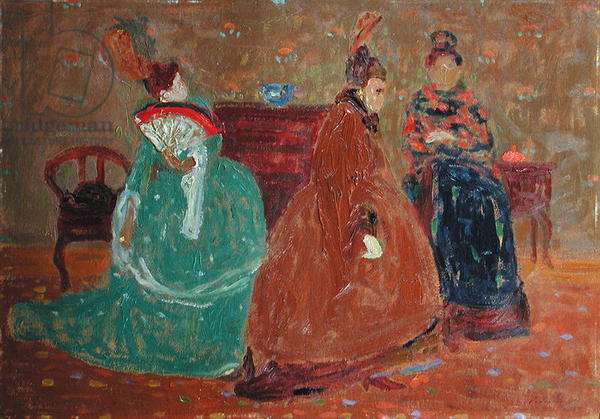 Differences, 1921 (oil on canvas)