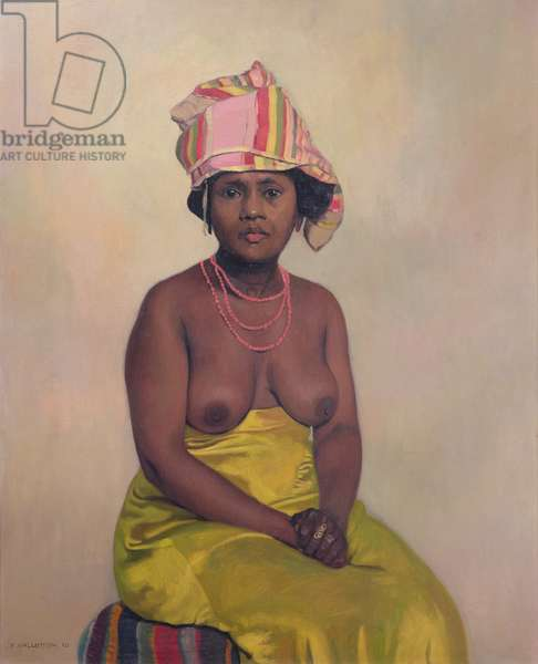 African Woman, 1910 (oil on canvas)