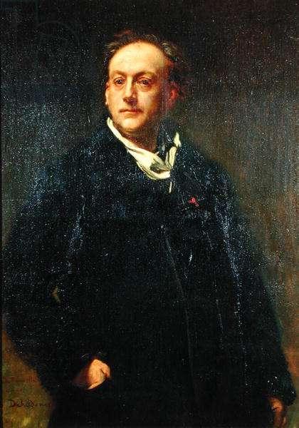 Theodore de Banville (1823-91) 1868 (oil on canvas)