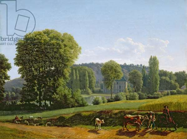 Landscape with Animals, 1806 (oil on canvas)