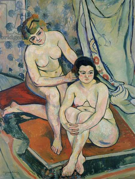 The Two Bathers, 1923 (oil on canvas)