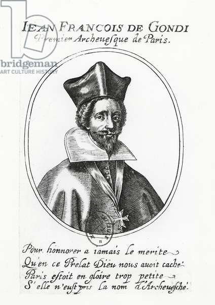 Jean-François de Gondi (engraving)