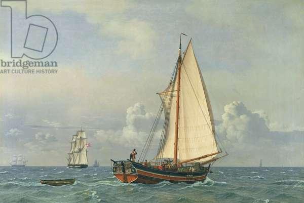The Sea, 1831 (oil on canvas)