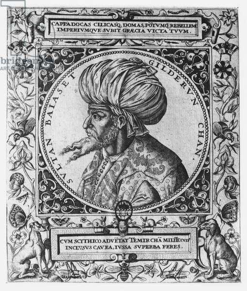 Bayezid I (engraving)