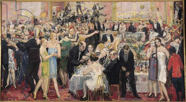 Le Pigall's, 1925 (oil on canvas)