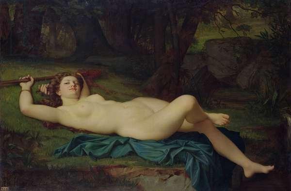 Bacchante, 1864 (oil on canvas)
