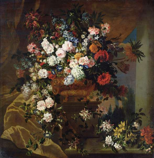 Bouquet of Flowers (oil on canvas)