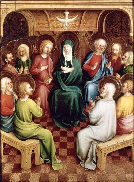 Pentecost, 1450 (oil on panel)
