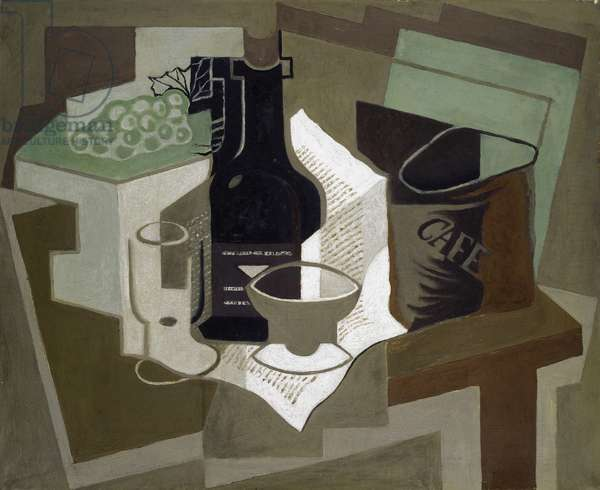 The bag of Coffee, 1920 (oil on canvas)