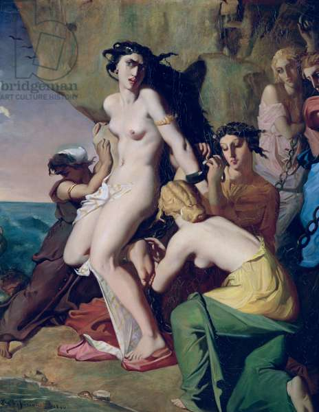Andromeda Tied to the Rock by the Nereids, 1840 (oil on canvas)