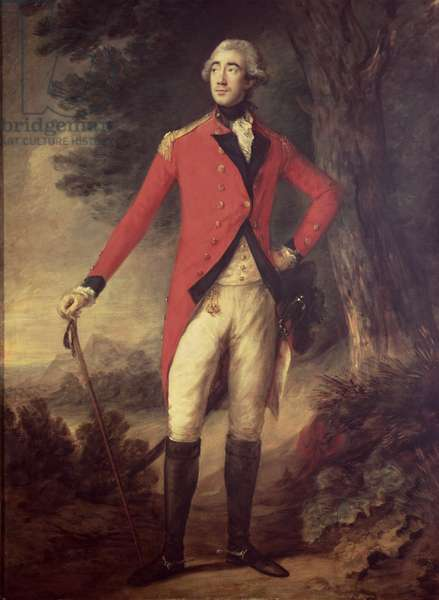 Lord Hastings (1732-1818) Governor of India, 1780s (oil on canvas)