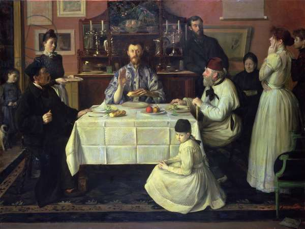 The Host, 1891-92 (oil on canvas)