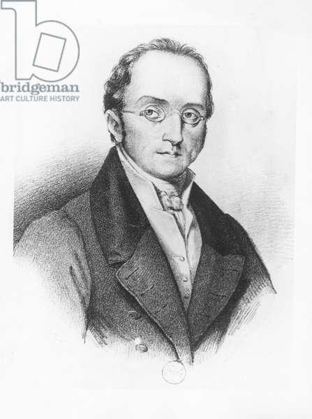 Portrait of Silvio Pellico (litho)