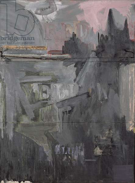 Passage, 1962 (oil and mixed media on canvas)