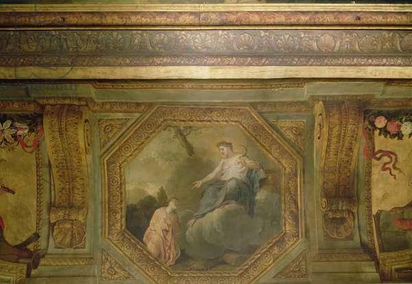 Ceiling of the Hôtel La Rivière (detail of Psyche begging Ceres), 1653 (oil on canvas)
