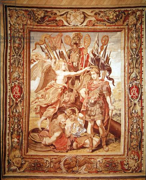 The Trophy of Constantine, by Philippe Maecht and Hans Taye, before 1663 (tapestry)