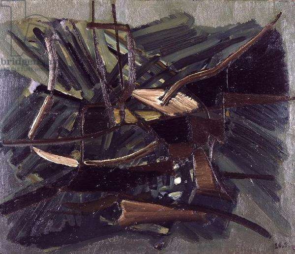 Untitled, 1946 (oil on canvas)