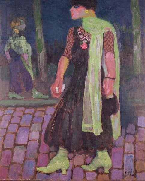 The Archaic, 1910 (oil on canvas)