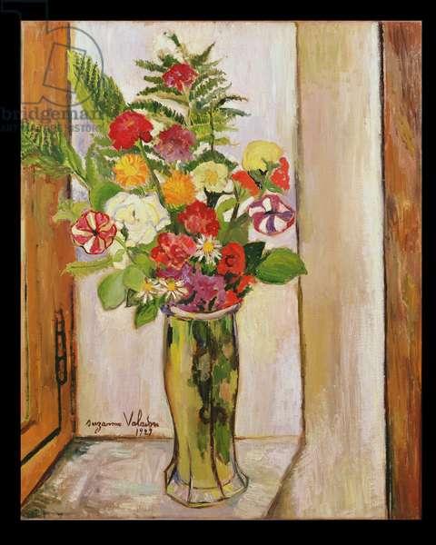Flowers, 1929 (oil on canvas)