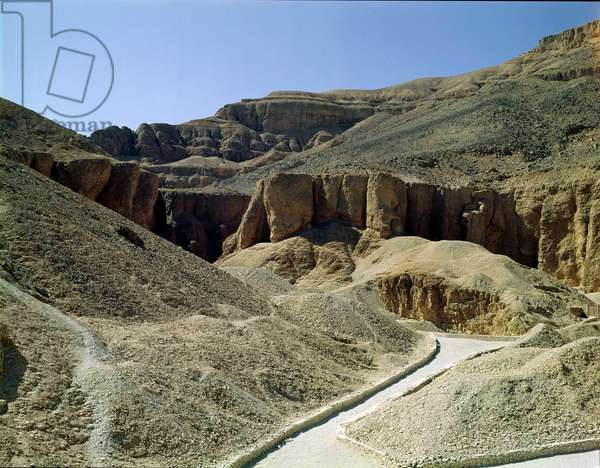 View of the Valley of the Kings (photo)