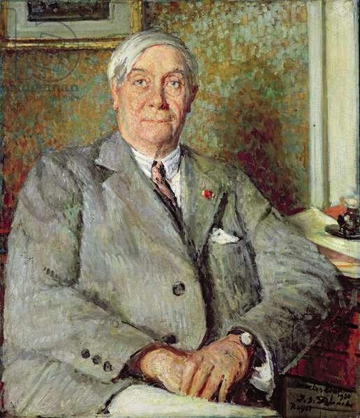 Maurice de Maeterlinck (1862-1949) 1931 (oil on canvas)