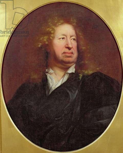 Portrait of Everhard Jabach, 1688 (oil on canvas)