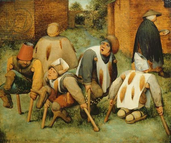 The Beggars, 1568 (oil on panel)