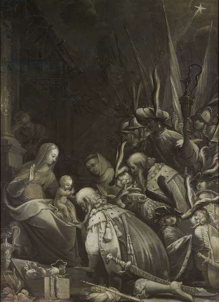 Adoration of the Magi, 1636 (oil on canvas)