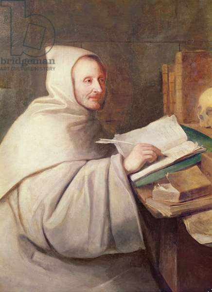 Abbot Armand-Jean le Bouthillier de Rance (1626-1700) (oil on canvas)