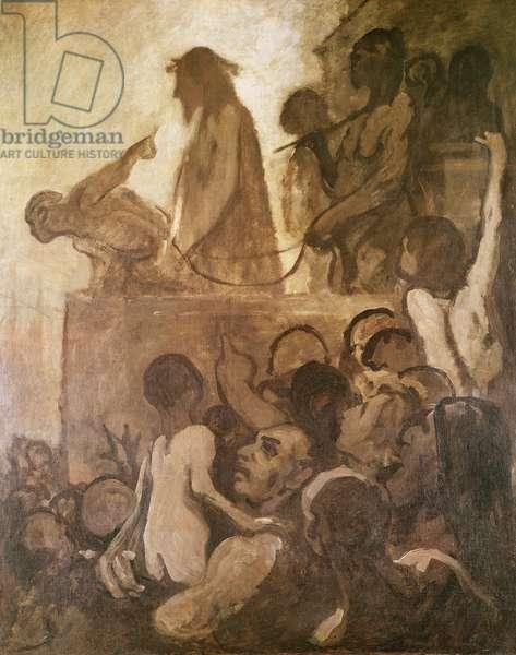 Ecce Homo, c.1848-52 (oil on canvas)