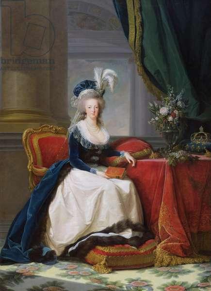 Marie-Antoinette (1755-93) 1788 (oil on canvas)